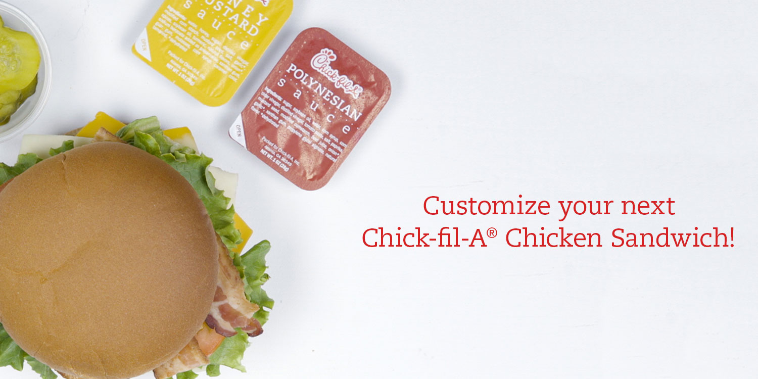 Chick-fil-A One customization twitter add